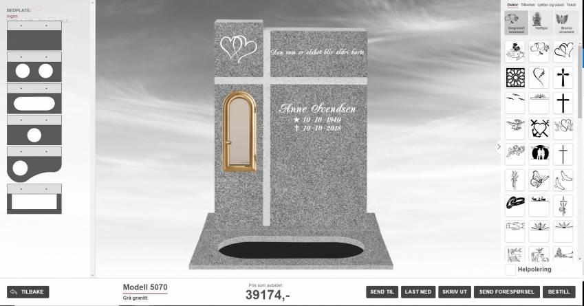 Steinbygger trinn 3 - utforming og design av gravminnet