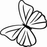 Gravstein 5196 Sommerfugl