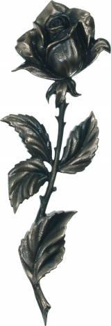 Gravstein Rose 613 - Bronse - 18 cm