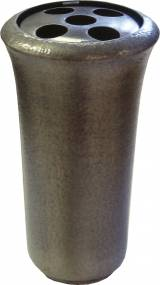 Gravstein Vase 2370 Bunn Aluminium