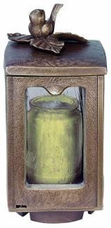Gravstein TV115 Lampe med spurv