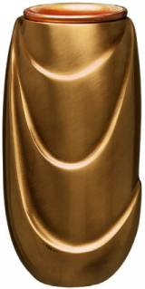 Gravstein Vase T4767 Bronse