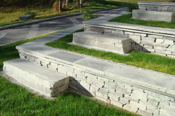 Sittegruppe, mur og heller i Lys Oppdal fra MINERA SKIFER