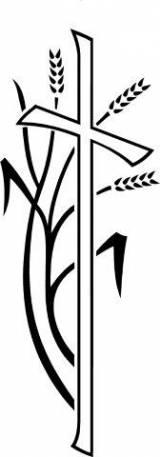 Gravstein 1048 Kors med aks