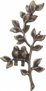 Gravstein 32 Fugler på tre  i bronse