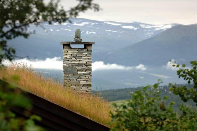 Lys Oppdal murstein og pipehelle fra MINERA SKIFER