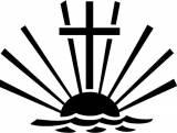 Gravstein 5311 Kors og solnedgang