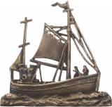 Gravstein 2310A Båt - 18,5 x 19 cm