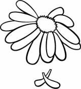 Gravstein 51597 Blomst
