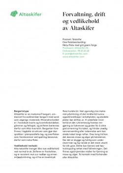 FDV-Altaskifer