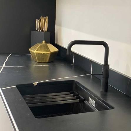 Underlimt vask -Et Noir - Silestone
