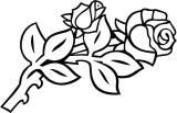 Gravstein 5202 Rose