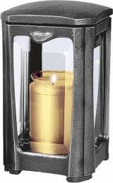 Gravstein Lykt 40117 Aluminium