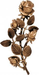 Gravstein Rose P29351 - 22 cm