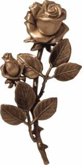 Gravstein Rose P29351 - 18 cm