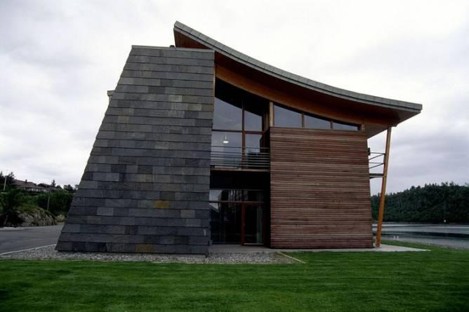 Otta i fasaden til kystverket fra MINER SKIFER