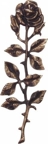 Gravstein Rose 378 Bronse - 30 cm