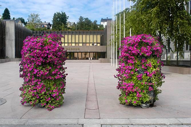 Rådhuplassen i Molde. Foto: Arne Strømme
