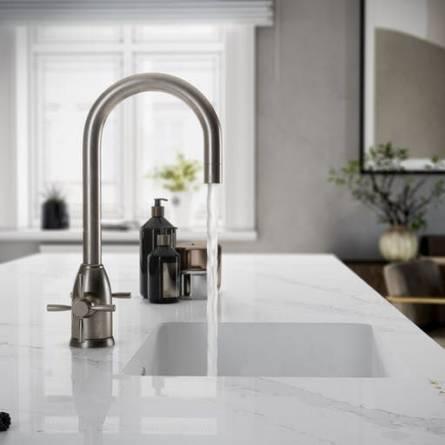 Underlimt vask - Et Calacatta Gold - Silestone