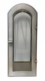 Gravstein Lykt 103 Aluminium integrert
