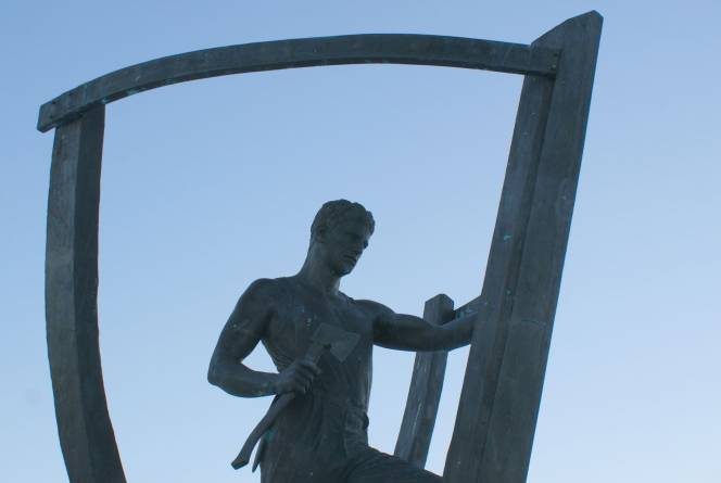 Båtbyggaren i Vestnes, Foto: Nerlands Granittindustri AS