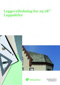 Draape-Lappstein 12-18 REDIGERT