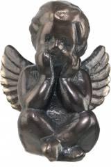 Gravstein 690 Engel helfigur