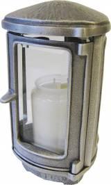 Gravstein Lykt 1400 F Aluminium