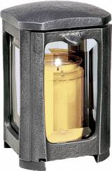 Gravstein Lykt 40116 Aluminium