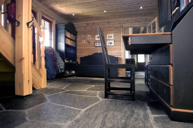 Store bruddheller for gulv fra Oppdal Sten